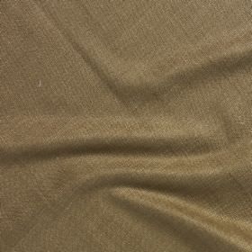 Simla Silk - Pelt - Unpatterned fabric made in a plain grey-beige colour from 100% silk