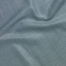 Simla Silk - Gustavian Blue - Classic cobalt blue coloured fabric made entirely from silk