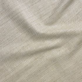 Simla Silk - Oatmeal - 100% silk fabric in pale grey, woven with a few slightly darker threads