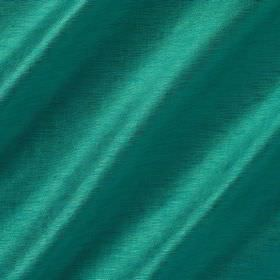 Soho Silk - Tourmaline - Turquoise coloured fabric made from a blend of viscose and silk