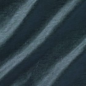 Soho Silk - Starling - Deep marine blue coloured viscose and silk blend fabric