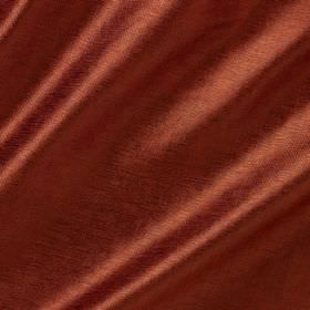 Soho Silk - Rothko - A slightly shiny finish to brick red coloured viscose and silk blend fabric