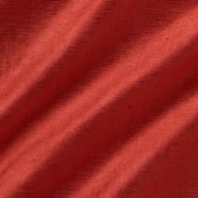 Soho Silk - Red Ibis - Tomato red coloured fabric made from a combination of viscose and silk