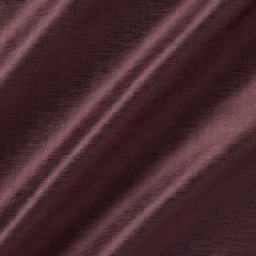 Soho Silk - Clematis - Fabric made from rich aubergine coloured viscose and silk