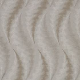 Swing - Linen - White and light shades of grey making up a slightly smudged, elegant, wavy pattern on 100% cotton fabric