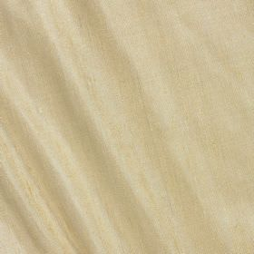 Vienne Silk - Golden Corn - Limestone coloured fabric made from a combination of silk and viscose