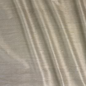 Vienne Silk - Driftwood - Slightly shiny light silver coloured silk and viscose blend fabric