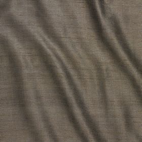 Vienne Silk - Bronze - Ash grey coloured fabric made from a blend of silk and viscose