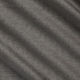 Vienne Silk - 2 Nutshell - Plain fabric made from silk and viscose in a dark grey colour which has a very slight hint of blue