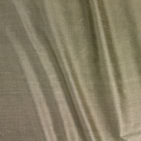 Vienne Silk - Serpentine - Fabric made from creamy silver coloured silk and viscose with a very slight sheen