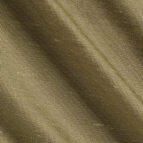 Vienne Silk - 2 Gooseberry - Wheat coloured fabric made from plain, unpatterned silk and viscose