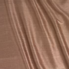 Vienne Silk - Baked Clay - Blush pink coloured fabric containing both silk and viscose and finished with a subtle sheen