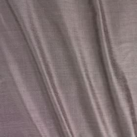 Vienne Silk - Wisteria - Plain fabric containing a blend of silk and viscose in a colour that's a mixture of pale lilac and silver