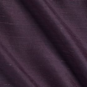 Vienne Silk - 2 Buddleia - Violet coloured silk and viscose blend fabric made with a subtle sheen but no pattern