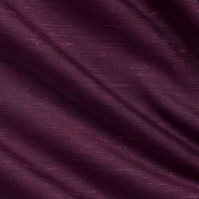 Vienne Silk - 2 Dahlia - Unpatterned Royal purple coloured fabric made with a 65% silk and 35% viscose content