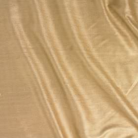 Vienne Silk - Palomino - Fabric made from silk and viscose in a light shade of gold