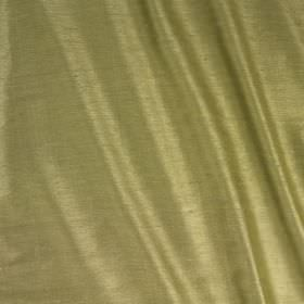 Vienne Silk - Asparagus - Silk and viscose blend fabric in a colour that's a blend of pale shades of olive green and grey