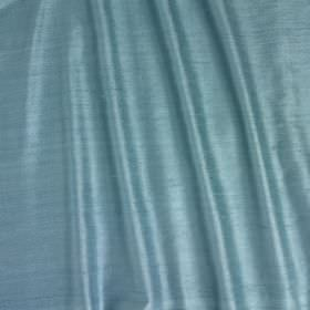 Vienne Silk - Tobago - Light blue coloured silk and viscose blend fabric finished with a slight sheen