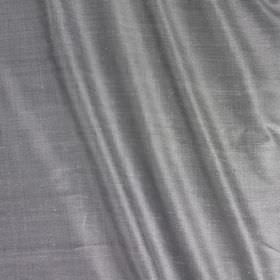 Vienne Silk - River Pearl - Unpatterned blue-grey coloured fabric blended from silk and viscose