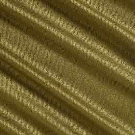 Waterfall Silk - Sweet Basil - Golden fabric containing a mixture of silk, polyester and acrylic