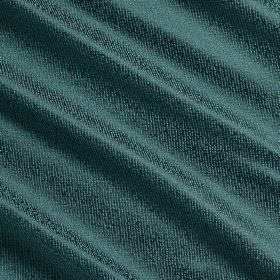 Waterfall Silk - Fjord - Aquamarine coloured fabric made from silk, polyester and acrylic with a slightly shiny finish