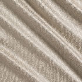 Waterfall Silk - Horn - Plain pale grey coloured silk, polyester and acrylic blend fabric