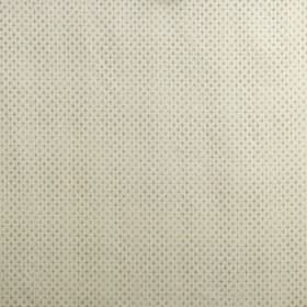 Winchester - Duck Egg - A miniscule, very subtle pale blue-grey pattern on off-white viscose, cotton and polyester blend fabric