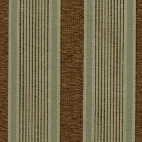 Salisbury - Sage - Light minty green and dark brown making up the striped pattern for this fabric with a mix of viscose, cotton and polyester