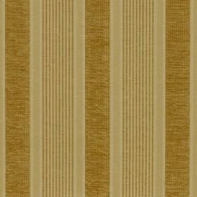 Salisbury - Straw - Gold and cream-green stripes on fabric made from a blend of viscose, cotton and polyester