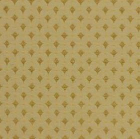 Winchester - Straw - Fabric made from a blend of viscose, cotton and polyester, with a pattern of tiny diamonds, in two shades of green-gold