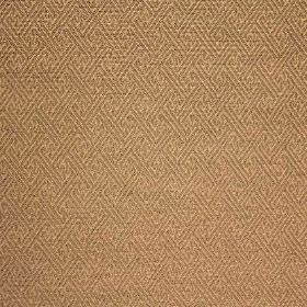 Mallorca Ranma - Sky - Fabric made with a very subtle pattern out of cotton, viscose and polyester, in two similar shades of golden brown