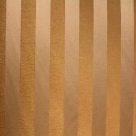 Cuthbert - Gold - Striped viscose and polyester blend fabric in light brown and gold