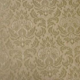 Venice Imogen - Pearl - Polyester and polyacrylic blend fabric with a subtle but detailed repeated pattern in two shades of cream-grey