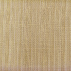 Cavendish - Sand - Subtly vertically striped light caramel coloured fabric made from polyester and cotton