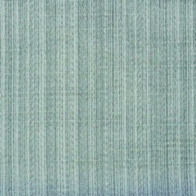 Cavendish - Silver - Two pale shades of dusky blue making up a subtly striped polyester and cotton blend fabric