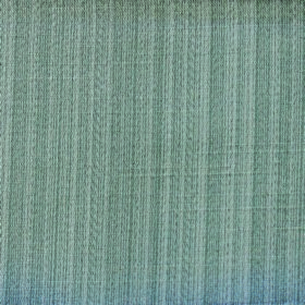 Cavendish - Slate - Teal coloured vertical lines interspersed with pale grey stripes on fabric with a polyester and cotton blend