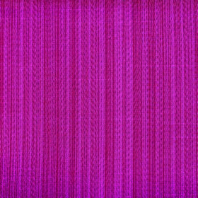 Cavendish - Cerise - Vertically striped cerise and claret coloured fabric made from polyester and cotton