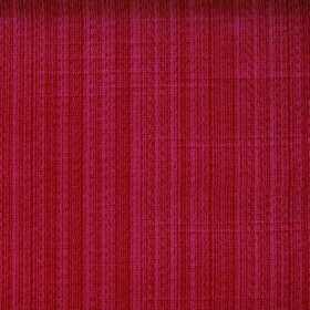 Cavendish - Poppy - Brick red coloured fabric made from polyester and cotton with some slightly paler stripes running vertically through it