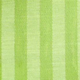 Darcey Stripe - Pear - Fabric made by combining cotton and polyester with a pattern of vertical stripes in apple green and pale green
