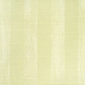 Darcey Stripe - Cream - Two light shades of creamy yellow striped together on fabric containing a cotton and polyester blend