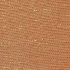 Parade - Terracotta - Light orange-brown coloured fabric made from 100% polyester with a few pale yellow threads showing through