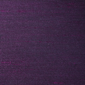 Parade - Aubergine - Fabric made entirely from plain dark purple-grey colorued polyester