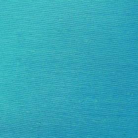 Parade - Teal - 100% polyester fabric made in a bright shade of cobalt blue with no pattern