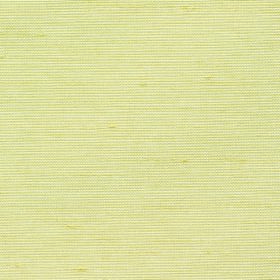 Parade - Cream - 100% polyester fabric in a plain light shade of butter yellow