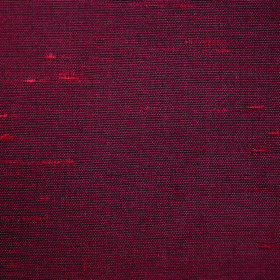 Parade - Claret - Fabric made from 100% polyester in a dark red-grey colour, with a few lighter red pulled threads