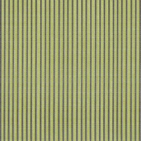 Symphony Raya - Gold - Thin dark grey stripes running vertically down lime green coloured polyester and cotton blend fabric