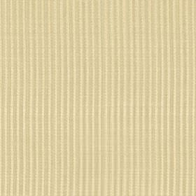 Symphony Raya - Desert - Wheat and cream coloured fabric made from polyester and cotton with a narrow vertical striped design