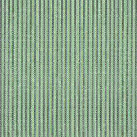Symphony Raya - Eau de-Nil - Vertical stripes in iron grey and mint green creating a narrow pattern on fabric made from polyester and cotton
