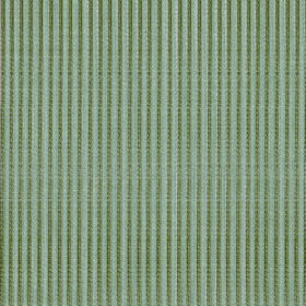 Symphony Raya - Thyme - Fabric made from narrowly striped polyester and cotton in forest green and light grey