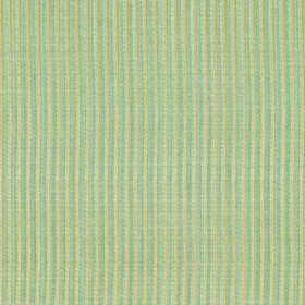 Symphony Raya - Ora - Light yellow and blue-grey making up a narrow, vertical striped pattern on fabric with a polyester and cotton blend